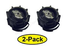 2 (Two) New Genuine MIDWEST Gas Diesel BLACK SCREW CAP COLLAR for 1200 2300 5600