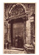 CARTOLINA PUGLIA - BARLETTA 1542 -  PORTA PRINCIPALE DELLA CHIESA DI S. ANDREA