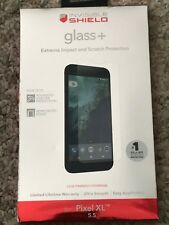 2 Pack Zagg invisibleSHIELD Glass+ Screen Protector for Google Pixel XL (Clear)