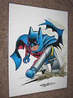 NEAL ADAMS Signed DC Comics Art Print ~Batman DETECTIVE COMICS Lego