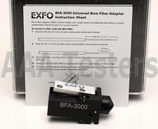 EXFO BFA-3000 Universal Bare Fiber Adapter SM MM Connector BFA3000 BFA 3000