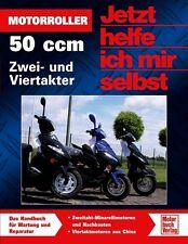 Motorroller 50ccm Zweitakter Viertakter Reparaturanleitung Restaurierung Wartung