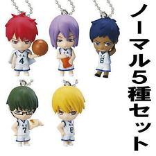 Bandai Kuroko no Basket Basketball EX 2 Key chain Swing Figure Set of 5