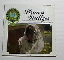 VARIOUS Strauss Waltzes LP Custom Rec CS-1068 US M SEALED 3D