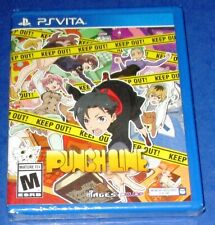 Punch Line Sony PS Vita *New! *Factory Sealed! *Region Free! *Free Shipping!