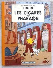 Tintin Les Cigares du Pharaon B14 EO couleurs Fr BE+/TBE 1955 Hergé