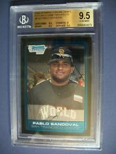 PABLO SANDOVAL 2006 Bowman Chrome Draft FG Prospects #FG6 BGS GEM MINT 9.5