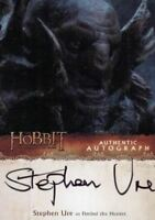 Hobbit Desolation of Smaug Stephen Ure as Fimbul the Hunter Autograph Card SU
