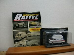 Collection Véhicules d'assistance Rallye N°27 Bedford Blitz - Opel Rally  revue