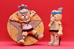 Bad Taste Bears - Missy & Bullseye - Collectible BTB Figurines Limited Edition