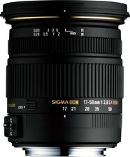 Sigma 17-50mm f/2.8 EX DC OS HSM Zoom Lens for Canon EF (4 Year USA Warranty)