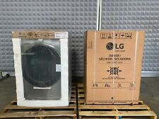 """Lg Side by Side Laundry Pair Wm3600Hva 27"""" Washer and Dlg3601V Dryer Electric"""