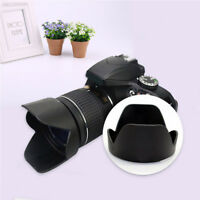 C9D9 Flower Petal Lens Hood Replacement For Nikon D3300 D5500 18-55mm Camera