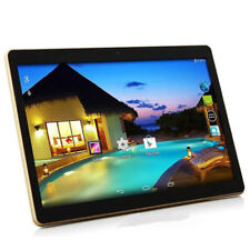 "32GB 10"" pulgadas Android 3G SIM Móvil Tablet Pc + Keyboard Case Google Play 4GB Ram"