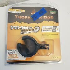 âš¡Free Shipping *New* Trophy Ridge Quick Shot Whiskerbiscuit Med Black