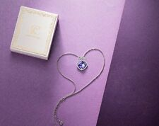 LADY COLOUR - Love of Lavender - Necklace for Women with Crystals from Swarovski