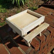 New listing squirrel picnic table lawn garden decoration bird feeder home decor yard gift