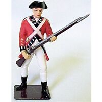 AMERICANA Revolutionary War British Infantryman 1/32 Painted Metal FREE SHIP