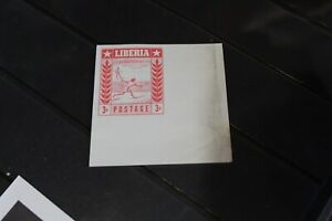 LIBERIA ERROR STAMP - SPORTS ISSUE PRINTED ON BOTH SIDES DIFF STAMPS
