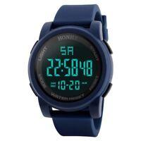 HONHX Fashion Sport Watch Men Outdoor Digital Watches LED Waterproof Luxury E ZC