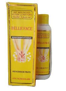 BELLE FACE LAIT ECLAIRCISSANT ANTI TACHE ULTRA FORT AUX ACIDES DE FRUITS 300 ml