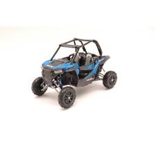 ATV POLARIS RZR XP 1000 BLUE 1:12 New Ray Moto Die Cast Modellino