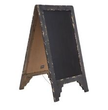 New Large Rustic Black Chalkboard, restaurant advertising, coffee shops, On Sale
