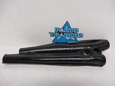 NOS Vintage AHRMA VMX MX Front Fork Skins Black  1977 1978 1979 Husky Husqvarna