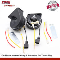 12V Car Snail Loud Horn For Subaru Impreza Lexus Toyota Corolla Crown Camry RAV4