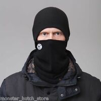 NEW WITH TAGS Celtek Unisex ZION FACEMASK BLACK SNOWBOARD SKI HUNTING LIMITED
