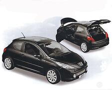 Peugeot 207, schwarz, NOREV, 1:18