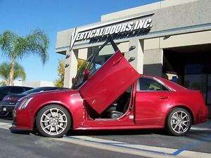 Cadillac CTS V  08 09 10 11 12 13 14 Vertical Doors inc. BOLT ON lambo door kit