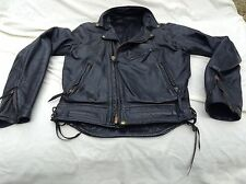 LANGLITZ Leather Motorcycle Jacket, GOAT, GOATSKIN Columbia SOFT!!