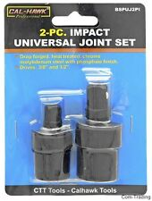 """3/8"""" And 1/2"""" Drive Impact Universal Joint Set Swivel Wobbly Sockets Air Tools"""