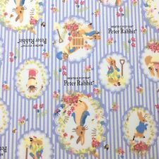 Peter Rabbit Nursery Cotton Quilting Fabric Half Metre Handmade Fabrics 110x50cm