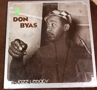 "Vintage 1980 SEALED! Don Byas ""Jazz Legacy"" LP - Inner City Records (IC-7018)"
