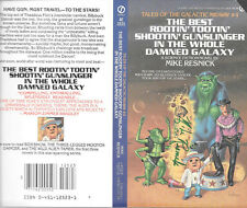 Mike Resnick autographed book cover