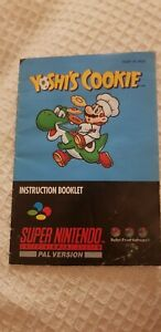 SNES Yoshi's Cookie (SNSP-YC-AUS) manual only