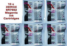 10xXEROX 8R7662 MAGENTA INK CARTRIDGE- XJ4C XJ6C DWC 450c DWC450cp  DOCUPRINT C6