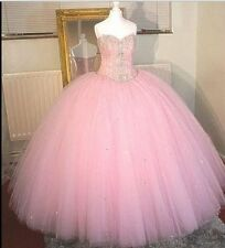 Sexy Crystal Quinceanera Dresses Ball Gown For 15 Years Prom Party Dress Custom