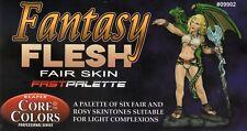Reaper Fast Palette Paint Set: Fantasy Flesh - Fair Skintones (6)