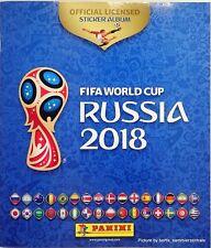 Panini 2018 World Cup Russia Empty Sticker Album AUSTRIA COCA-COLA FREE EDITION