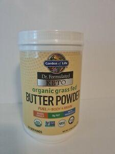 Keto Butter Powder Garden Of Life 30 Servings Non Gmo 10.58oz