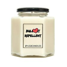 Bullshit Repellent Funny Joke Swearing Scented Candle Gift