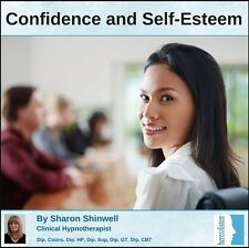 Increase Self-Confidence, Boost Self-Esteem-Be Confident Hypnosis CD @HALF PRICE