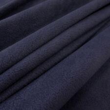 Stoff Meterware Polar Fleece antipilling knitterfrei marine blau dunkelblau