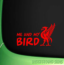 ME AND MY BIRD LIVER BIRD LIVERPOOL CAR STICKER WALL LAPTOP WINDOW