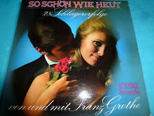Franz Grothe So schon wie heut Baccarola Stereo RARE!