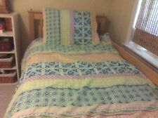 Company Kids Twin Comforter And Pillow Sham Euc multi color Print Freshly Washed