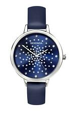 Sekonda Ladies Editions Blue Watch with Stone Set Dial 2944